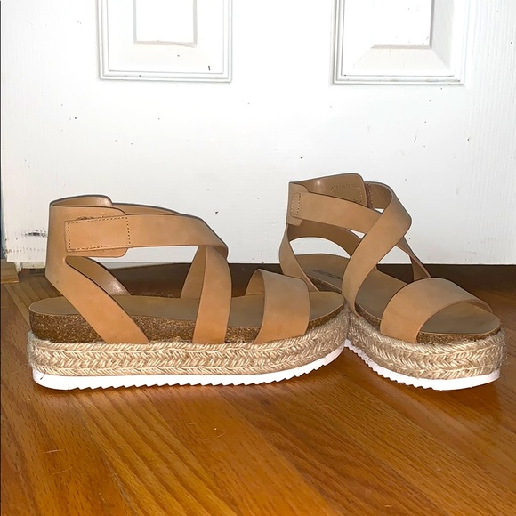Cute Tan Sandals